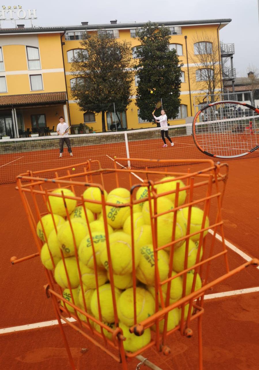 Ancora Sport Hotel palle da tennis